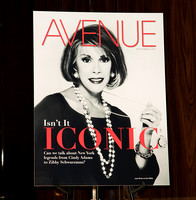 Avenue Magazine Cover Party at the Kent Gallery