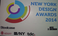 New York Design Awards 2014