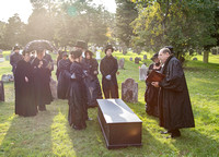 South Hampton Museum reenactment 1987 funeral